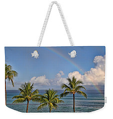 Hawaii Rainbow Weekender Tote Bag