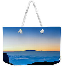 Weekender Tote Bag featuring the photograph Hawaii Sunset by Jim Thompson