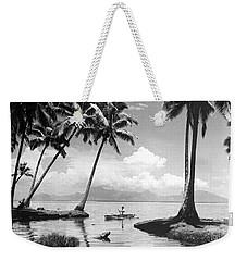 Hawaii Tropical Scene Weekender Tote Bag