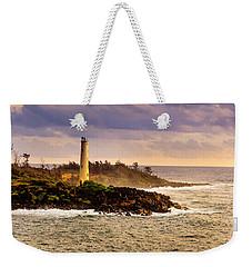 Hawaiian Lighthouse Weekender Tote Bag