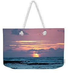 Hawaiian Ocean Sunrise Weekender Tote Bag by Lehua Pekelo-Stearns