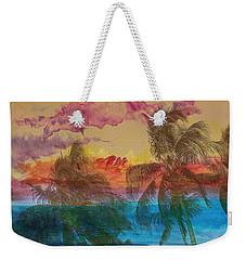 Weekender Tote Bag featuring the photograph Hawaiian Sunset by Athala Carole Bruckner