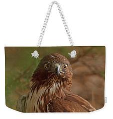 Hawk Close Encounter Weekender Tote Bag