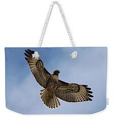 Hawk In Flight  Weekender Tote Bag
