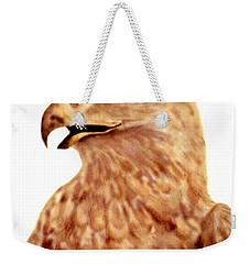 Hawk Weekender Tote Bag by Terry Frederick