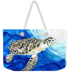 Hawksbill Sea Turtle 2 Weekender Tote Bag