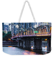 Hawthorne Bridge Portland Oregon Weekender Tote Bag