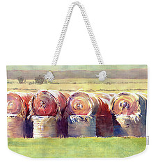 Hay Bales Weekender Tote Bag