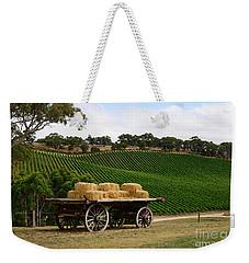 Hay Wagon Weekender Tote Bag