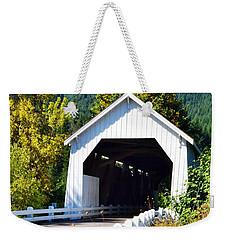 Hayden Covered Bridge Weekender Tote Bag