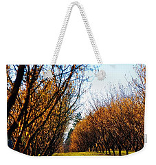 Hazelnut Orchard 21578 Weekender Tote Bag by Jerry Sodorff