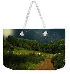 Hazy Moon Meadow Weekender Tote Bag