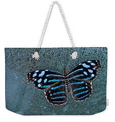 Hdr Butterfly Weekender Tote Bag by Elaine Malott