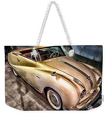 Weekender Tote Bag featuring the photograph Hdr Classic Car by Paul Fearn