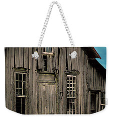 Shack Of Elora Tn  Weekender Tote Bag by Lesa Fine