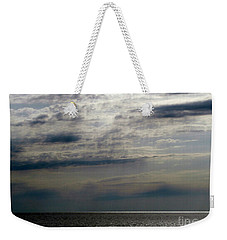 Hdr Storm Over The Water  Weekender Tote Bag