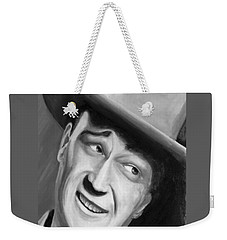 He Played A Cowboy Weekender Tote Bag