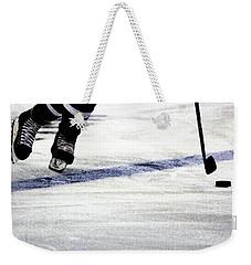 He Skates Weekender Tote Bag by Karol Livote