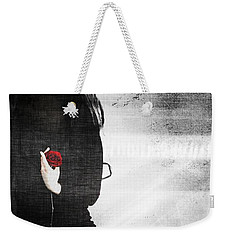 He Took My Sense Of Self Weekender Tote Bag by Jessica Shelton