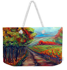 He Walks With Me Weekender Tote Bag
