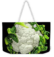 Head Of Cauliflower Weekender Tote Bag by Diana Angstadt