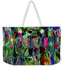 Head Voices Weekender Tote Bag by David Lane