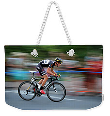 Weekender Tote Bag featuring the photograph Heading For The Finish Line by Kevin Desrosiers