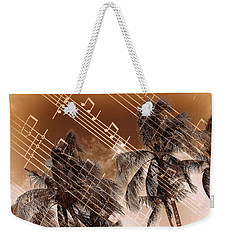 Hear The Music Weekender Tote Bag by Athala Carole Bruckner