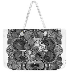 Heart To Heart Weekender Tote Bag