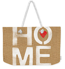 Heart And Home Weekender Tote Bag