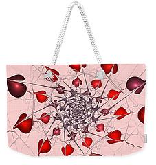 Heart Catcher Weekender Tote Bag