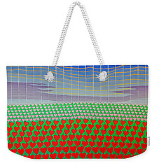 Heart Fields Again Weekender Tote Bag
