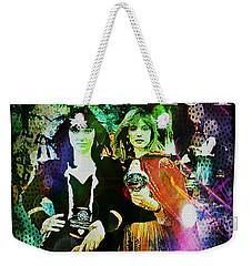 Heart Little Queen - Cover Art Design Weekender Tote Bag by Absinthe Art By Michelle LeAnn Scott