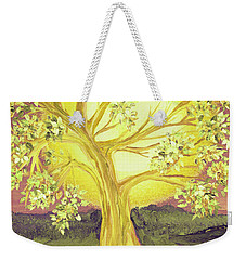 Heart Of Gold Tree By Jrr Weekender Tote Bag