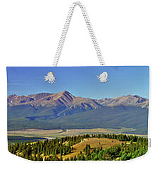 Heart Of The Sawatch Panoramic Weekender Tote Bag