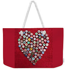 Heart Pop Weekender Tote Bag