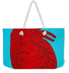 Heart Red Weekender Tote Bag by Stefanie Forck