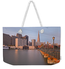 Heart San Francisco Weekender Tote Bag by Jonathan Nguyen