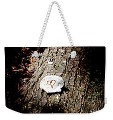 Heart Shape Stop Weekender Tote Bag