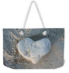 Heart Stone Photography Weekender Tote Bag by Rachel Stribbling