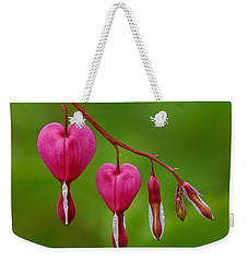 Heart String Weekender Tote Bag