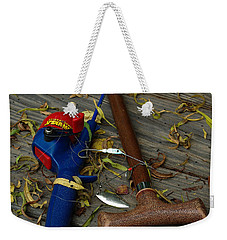 Weekender Tote Bag featuring the photograph Heart Strings by Peter Piatt