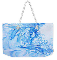 Heart Wing Weekender Tote Bag
