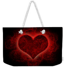 Heart's Afire Weekender Tote Bag by Beverly Stapleton