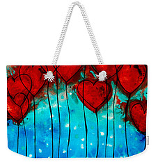 Hearts On Fire - Romantic Art By Sharon Cummings Weekender Tote Bag