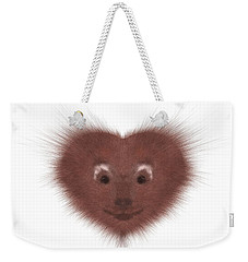 Hearty Beast 1 Weekender Tote Bag