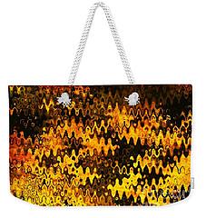 Heat Weekender Tote Bag by Anita Lewis