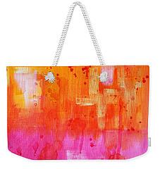 Heat Weekender Tote Bag