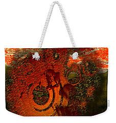 Weekender Tote Bag featuring the digital art Heat Of Battle by Clayton Bruster