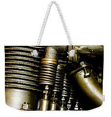 Heath-henderson Motorcycle Engine Weekender Tote Bag by Wilma  Birdwell